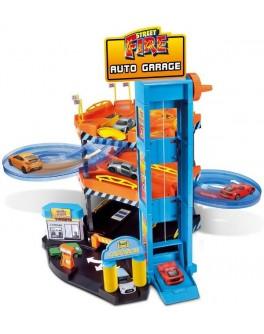 Игровой набор - ПАРКИНГ (3 уровня, 2 машинки 1:43) - KDS 18-30361