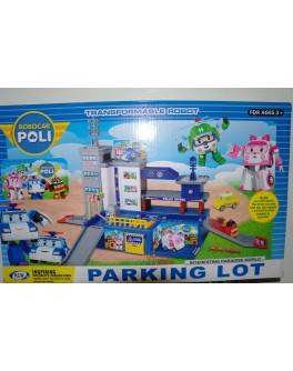 Паркинг Robocar POLI Техническая станция