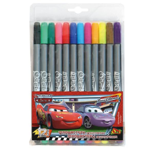 Фломастеры двухсторонние «Cars» Disney - olli 816