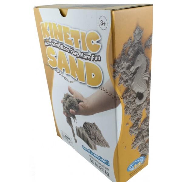 фото Кинетический песок 5 кг Wabafun Kinetic Sand - sand 150-201