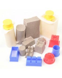 Формочки для кинетического песка Строим маленький замок, WabaFun - sand F02