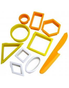 Формочки Геометрические предметы, WABAFUN - sand 193-111
