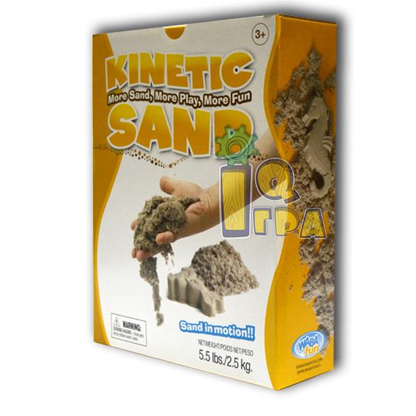 фото кінетичного піску Kinetic Sand 2,5 кг