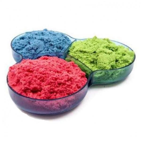 кинетический песок цветной 1 кг wabafun