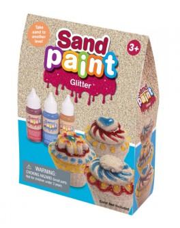 Краски Glitter Sand Paint с блестками - sand 180-003