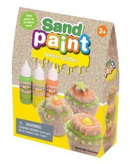 Краски NEON Sand Paint неоновые с блестками - sand 180-004