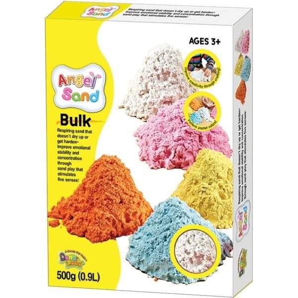 Песок для творчества Angel Sand 0,9 л, в ассортименте - kklab МА07011-12-13-14-15