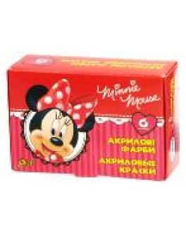 "Краски акриловые ""Mikkie Mouse"" Disney"