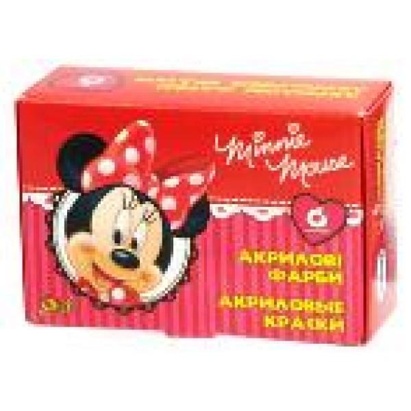 "фото Краски акриловые ""Mikkie Mouse"" Disney - olli 320093"