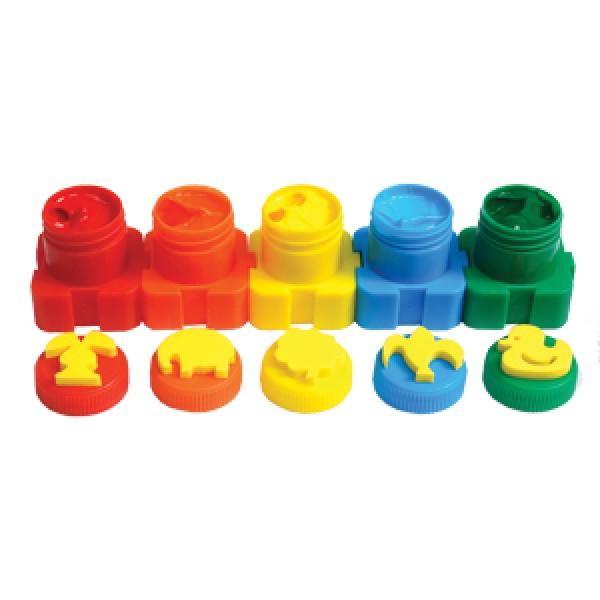 краски пальчиковые в наборе Гамма 5005