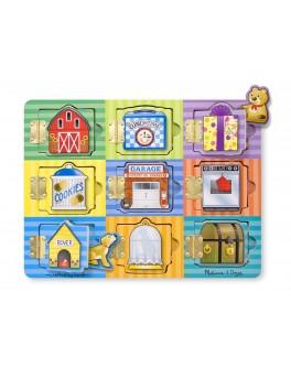 Деревянная игрушка Открой и Найди - Магнитная доска, Melissa&Doug - MD10474