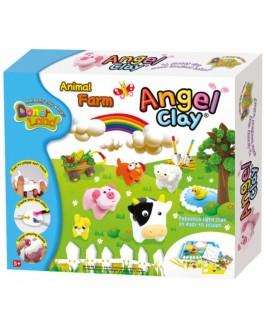 Мягкая глина Домашние животные, Angel Clay - kklab AA12051