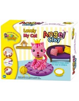 Мягкая глина Моя любимая кошечка, Angel Clay - kklab AA07021