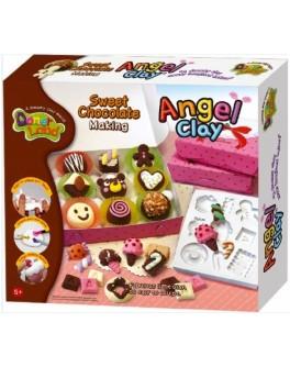 Мягкая глина Шоколадная мастерская, Angel Clay - kklab AA13081