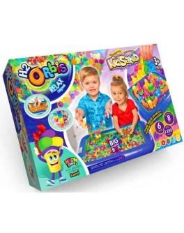 Набір для творчості Orbis + KidSand + Тісто для ліплення Danko Toys (ORBK-01-01U)