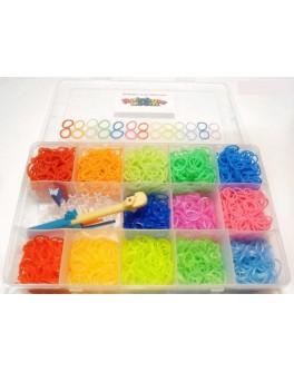 Набор Loom для плетения цветными резинками 2000 резинок - DJ SV11617