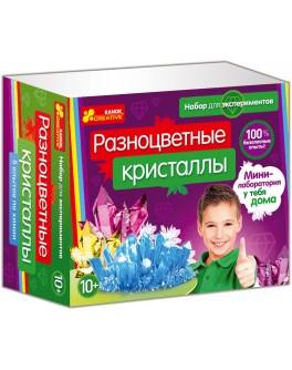 Набор для экспериментов Ranok Creative Разноцветные кристаллы - RK 12115010Р