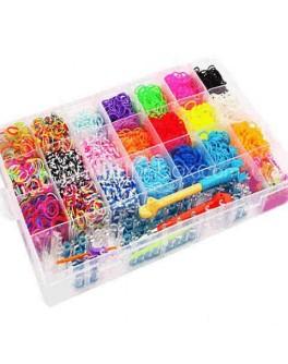Набор резинок для плетения браслетов 5800 штук - IQ 5800