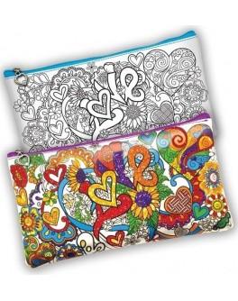 Набор креативного творчества Мой цветной пенал - mlt my color clutch