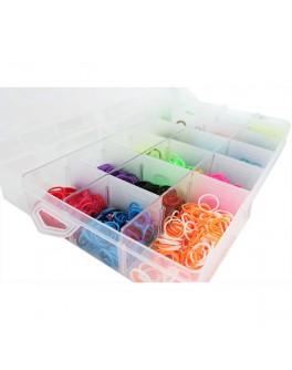 Набор Loom для плетения цветными резинками 5000 резинок