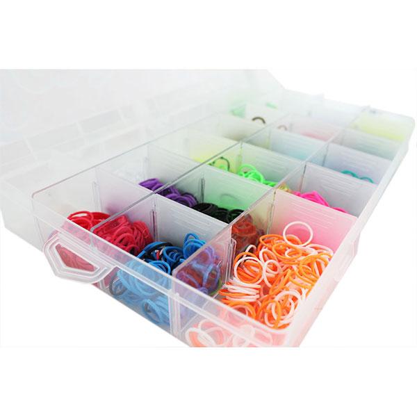 Набор Loom для плетения цветными резинками 5000 резинок - DJ SV11833