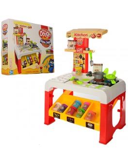 Игровой набор кухня с тестом для лепки  - mpl MK 0677