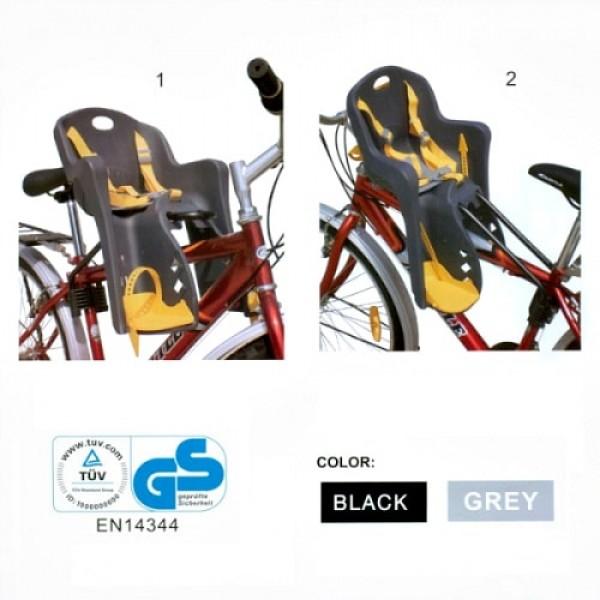 велокресло на переднюю раму для детей до 15 кг