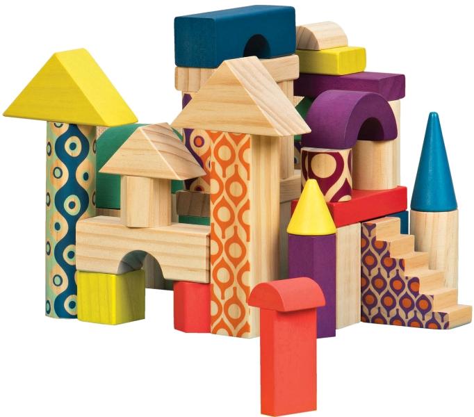 игрушка деревянные кубики фото