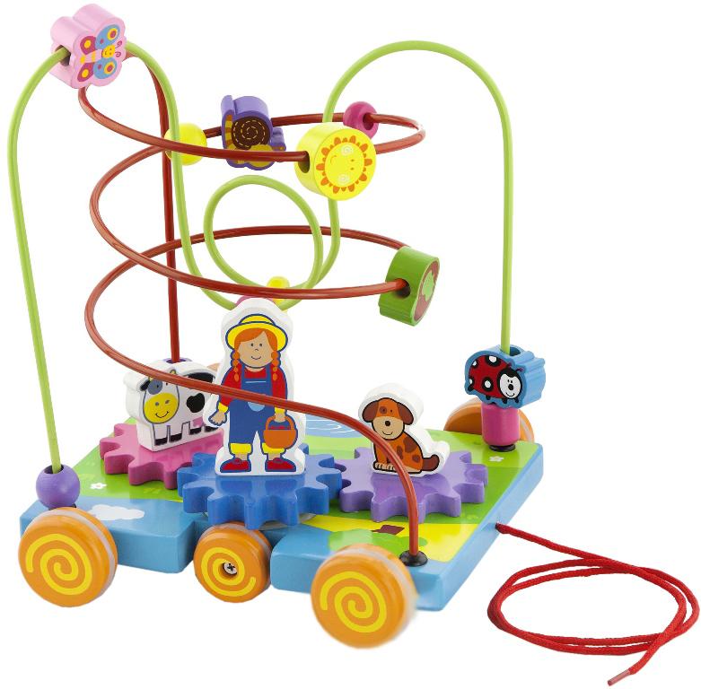 Игрушка деревянная для детей Пальчиковый лабиринт фото